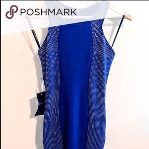 Bebe Rhinestone Dress